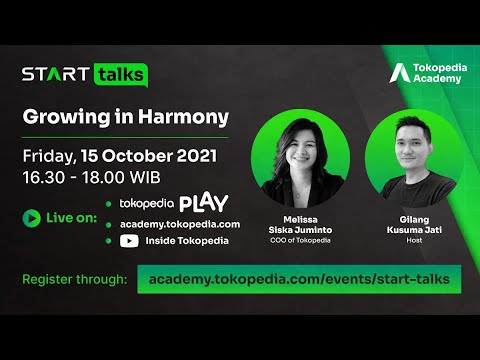 START Talks - Growing in Harmony