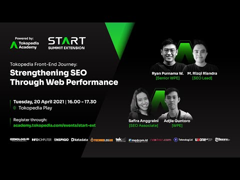 Tokopedia Front-End Journey: Strengthening SEO through Web Performance