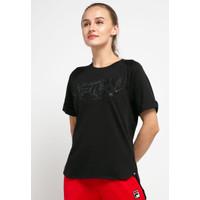 FILA Baju Kaos Wanita Milano Tee 8101 - Black