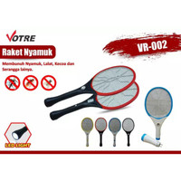 Raket Nyamuk Votre VR-002 Plus Senter LED