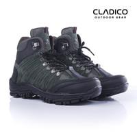Sepatu Safety Boots Pria Original Cladico Cope High Hijau Army Terbaik