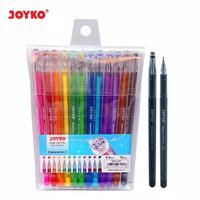 Pulpen Joyko Diamond Art 2 GPC-297 12 Warna