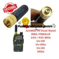 Antena Ht Dual band Sma Female uv-5r Sra-805s Original