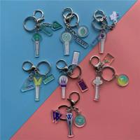 Gantungan Kpop keychain Super M G-Idle WAYV TXT IU SF9 APINK WINNER