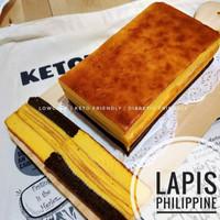 kue Keto||Lapis Philipine premium||lapis Keto sugar free