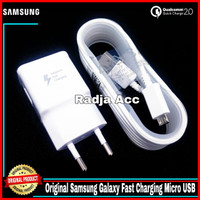 Charger Samsung Galaxy Note 4 S6 Original 100% Fast Charging Micro USB