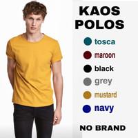 kaos polos - mustard, M
