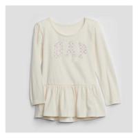 Kaos Anak Perempuan Lengan Panjang Baby GAP Girl Tee (PUTIH) - 4t