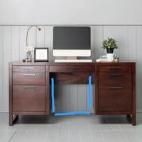 meja kantor 1 biro kayu jati