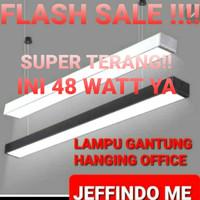 Lampu gantung led lampu plafon led office hanging lamp lampu panjang