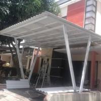 kanopi atap spandek tlp/wa 085888250144