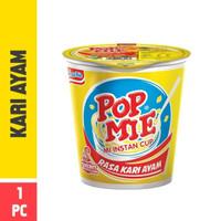 pop mie kari ayam 75gr bukan sedaap atau abc