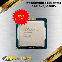 PROMO Processor G2020 Untuk Soket LGA 1155 Gen 3 Ivybridge