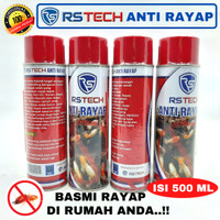 RSTech Anti Rayap 500ml Spray Cairan Obat Semprot Pembasmi Rayap Kayu