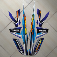 Stiker Striping Motor Yamaha Jupiter Z 2005 Biru