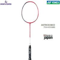 New Color Raket Badminton Yonex Astrox 88 D / 88D Dominate Red Black
