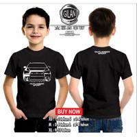 Kaos Baju Anak OUTLANDER SPORT MITSUBISHI Kaos Mobil Anak Otomotif