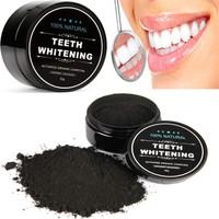 TEETH WHITENING Pemutih Gigi Arang Aktif Charcoal Powder