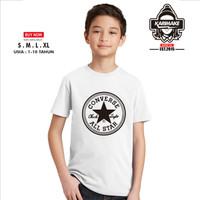Kaos Baju Anak Converse Classic Logo Kaos Distro - Karimake