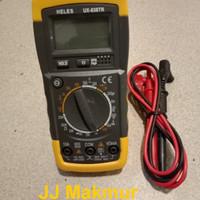 Heles Multitester Multimeter Avometer Digital UX838TR UX-838TR Avo
