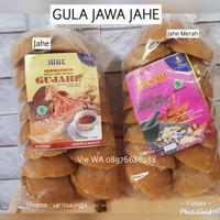 GULA JAWA JAHE / GUJAHE / WEDANG GULA JAHE 1kg ( kemasan 500gr 2pax )