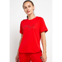 FILA Baju Kaos Wanita Milano Tee 8101 - Red