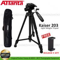Attanta Kaiser 203 Lightweight Tripod DSLR SLR Plus Holder U