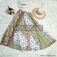 Rok Panjang Muslimah Nafisha Umbrella Skirt
