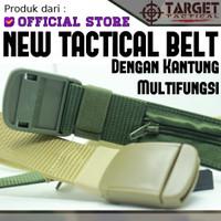 Gesper Plastik Tactical Kantung Multifungsi Anti UV & Metal Detector