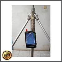 Antena Pemancar/Penerima fm ground plane 1/4 lamda frekuensi 87.5 -