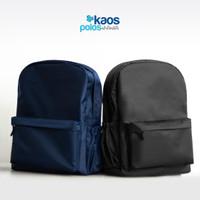 Tas punggung ransel polos / Backpack / Ransel kuliah distro