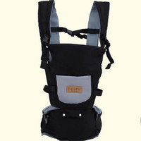 5 in 1 Gendongan bayi Depan Hipseat Baby Carrier Hipseat Baby Tuturu - Hitam