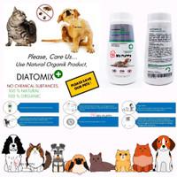 Diatomix Bedak Pembasmi Kutu Hewan - bedak anti kutu kucing anjing 25g