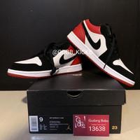 Nike Air Jordan 1 Low Black Toe BNIB ORIGINAL MATERIAL GUARANTEE