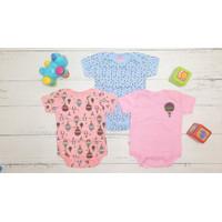 Pakaian bayi jumper 6-9 bulan ( isi 3 pcs ) Hunday BAC107