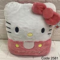 Bantal Persegi Hello Kitty L