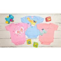 Pakaian bayi jumper 6-9 bulan ( Isi 3 pcs ) Hunday BAC105