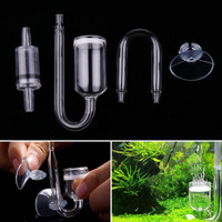 Aquaspace co2 Diffuser Glass / Kaca Paket 1 set / aquarium glass tube