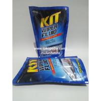 Kit Wiper Fluid / Pembersih kaca mobil / Efek daun talas