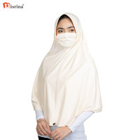 Nisrina Fashion Muslim Bergo syari masker Tali Jilbab Shanaya