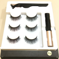 Magnetic Eyeliner Eyelash Suit Bulu Mata Magnet 1 set isi 3 Pasang