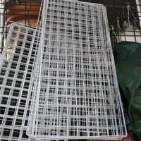 Rak Kawat Putih / Rak Pot Argo / Rak Besi (Uk. 95 cm x 45 cm)