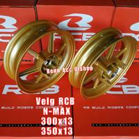 VELG RACING RCB NMAX TIPE S811 100%ORIGINAL RCB