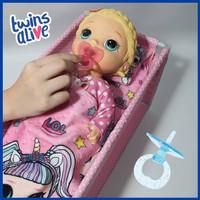 Dot Empeng Plastik Aksesoris Boneka Baby Alive MellChan