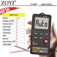 Zoyi ZT-KP2 Smart Auto Multitester Avometer Digital Buzer AC/DC HZ