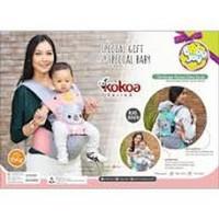 HIPSEAT BABY JOY KOKOA & BONNIE SERIES-GENDONGAN DUDUK BABY JOY 3029