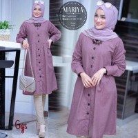 Baju Atasan Muslim Wanita Terbaru Mariya Tunik Muslim Murah