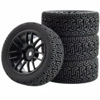 1pcs velg + ban on road rally RC 1/10 ZD wltoys 144001 HSP remo vortex