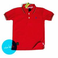 kaos anak polo shirt / kaos anak
