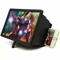 MAGIC BOX F2 Alat Pembesar Layar Handphone 3D Enlarge Screen Projector